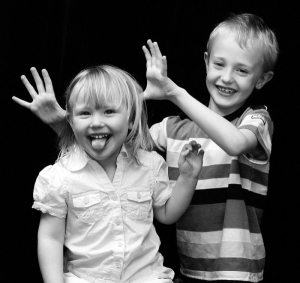 children-joyful-playing