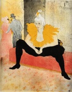 Henri de Toulouse-Lautrec - Cha-U-Kao_ Chinese Clowness_ Seated
