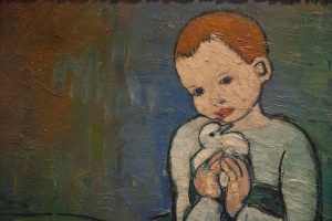Picassos-Child-With-A-Dove