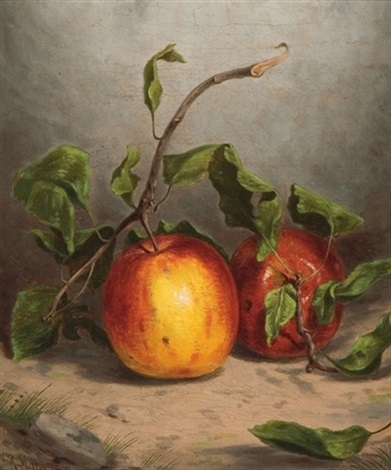 william-rickarby-miller-still-life-with-apples